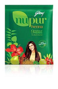 Godrej Health & Fitness - Godrej Nupur Mehendi Powder 9 Herbs Blend, 150-gram