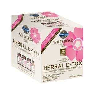 Garden Of Life Wild Rose Herbal D-tox Kit (12 Day)
