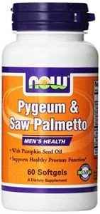 Now Foods Pygeum And Saw Palm Extract, Soft-gels, 60-count