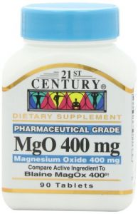 21st Century Mgo 400 Mg Tablets, 90-count