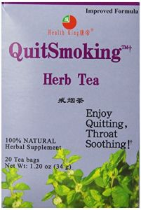 Health King Stopsmoking Herb Tea, Teabags, 20 Count Box