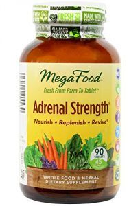 Megafood Adrenal Strength Tablets, 90 Count