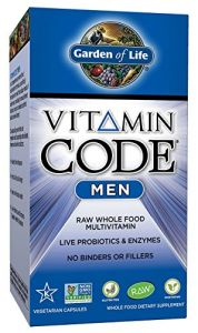 "Garden Of Life Vitamin Code Men""s Multi, 120 Capsules"