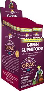 Amazing Grass Green Superfood Orac, Box Of 15 Individual Servings, 0.25 Ounces