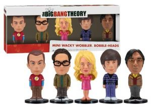 Funko Big Bang Theory Mini Wacky Wobbler Set, 5 Pieces