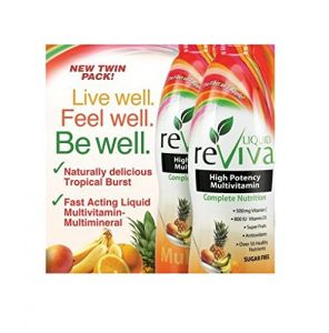 Liquid Reviva Dietary Supplements Multivitamins Twin Pack