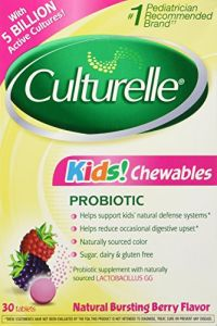 Culturelle Kids Chewable, Bursting Berry Flavor, 30 Chewable Tablets