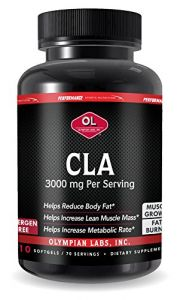 Olympian Labs Cla-conjugated Linoleic Acid, 1000 Mg