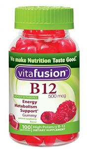 Vitafusion B12 Gummy Vitamins, 100 Count (pack Of 3)