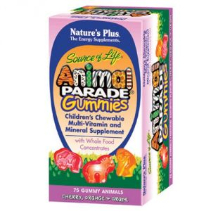 "Nature""s Plus - Childrens - Animal Parade Gummies Assorted 75"