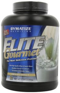 Dymatize Health & Fitness - Dymatize Nutrition Elite Gourmet Protein, French Vanilla, 5 Pound