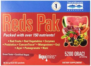 Trace Minerals Reds, 30-count
