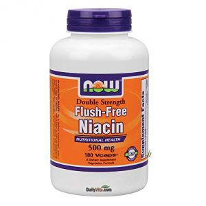 Flush-free Niacin 500mg 180 Vegicaps