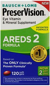 Personal Care & Beauty ,Health & Fitness  - PreserVision AREDS 2 Vitamin & Mineral Supplement 120 Count Soft Gels