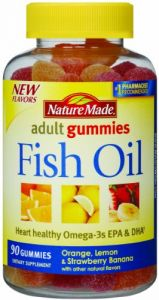 Nature Made Fish Oil Adult Gummies, 90 Count