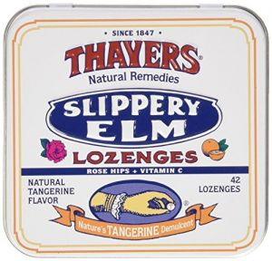 Slippery Elm Tangerine 42 Lozenges
