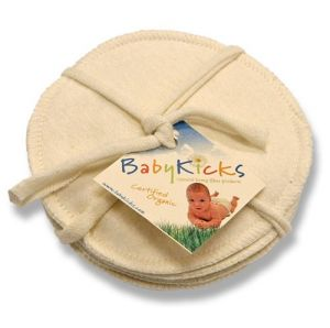 Babykicks Set Of 3 Nursing Pads, Jersey
