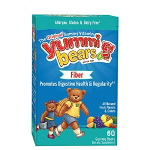 Yummi Bears Fiber Supplement For Kids, 60-count Gummy Bears