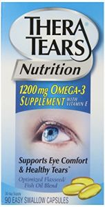 Thera Tears Nutrition, 1200mg Omega-3 Supplement Capsules, 90-count