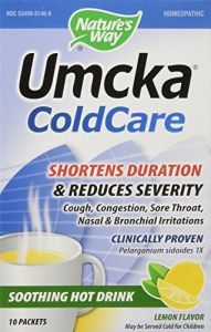 "Nature""s Way - Umcka Lemon Hot Drink, 10 Packets"