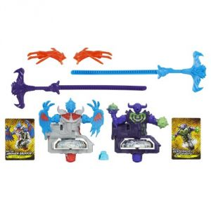 Beyblade Shogun Steel Beywarriors Earth Vs. Sky Element 2-pack