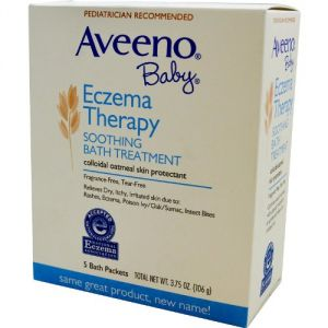 Aveeno Soothing Baby Bath Treatment, Single Use Packets - 5 Ea