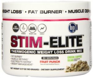 Bpi Sports Stim Elite Diet Supplement, Fruit Punch, 90 Gram