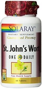 "Solaray One Daily St. John""s Wort Supplement, 900 Mg, 60 Count"