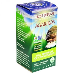 Host Defense Agarikon Capsules, Full Spectrum Of Constituents, 60 Count