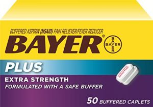 Bayer Extra Strength Plus Caplets, 500 Mg, 50 Count