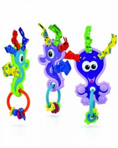 Nuby Under The Sea Teether, 3 Months Plus