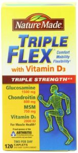 Nature Made Tripleflex Triple Strength With Vitamin D, 120-count