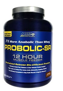 Mhp Health Supplements - MHP, Probolic-SR Sustained Release Bio-Efficient Protein, 56 Servings
