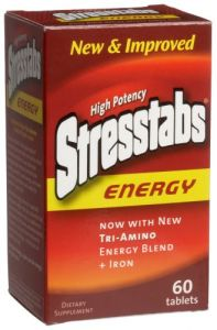 Stresstabs Energy 60tab,(pack Of 2)