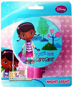 Disney Doc Mcstuffins Night Light, Cutest Little Caretaker