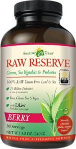 Amazing Grass Raw Reserve Berry, 30 Servings, 8.5 Ounces