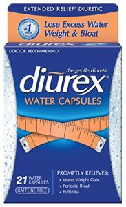 Diurex Extended Relief Water Capsules, 21 Count