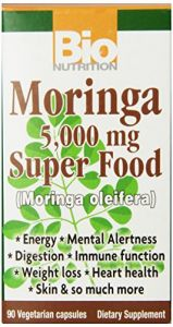 Bio Nutrition Moringa Super Food Vegi-caps, 90 Count