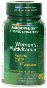 "Rainbow Light, Women""s Organic Multivitamin, 120 Count"