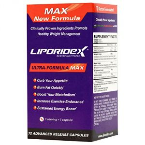 Fat Burner That Works Fast - Liporidex Max Appetite Suppressant For Fast Weight Loss Supplements Increase Energy, Boost Metabolism Reduce Appetite.