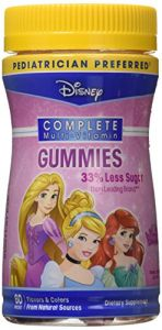 Disney Multivitamin Princess Gummies (3-pack)