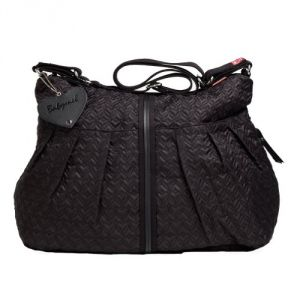 Babymel Amanda Quilted Diaper Bag - Black