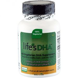 "New Martek Life""s Dha Omega-3 200mg Dha 60 All-vegetarian Softgels (pack 1)"