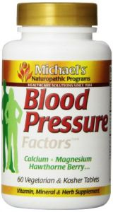 "Michael""s Naturopathic Programs Blood Pressure Factors Nutritional Supplements, 60 Count"