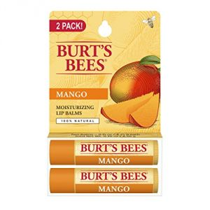 "Burt""s Bees Lip Balm, Mango Butter Blister Pack, 0.3 Ounce, 2 Count"