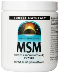 Source Naturals Msm Powder, 1 Pound