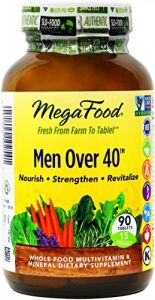 Megafood Men Over 40 Multivitamin Tablets, 90 Count