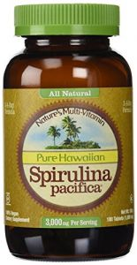 Nutrex Hawaii - All Natural Hawaiian Spirulina Pacifica, 1000mg,180 Tablets