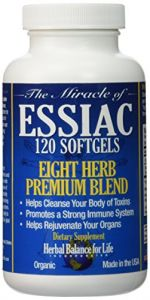 Essiac Tea Softgels, 796 Mg, 120 Soft Gels, Eight Herb Essiac Tea, No Brewing, No Refrigeration, Great For Travel, 30 Day Supply