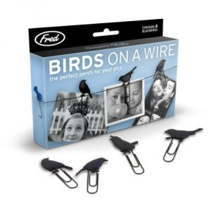 Fred And Friends Birds On A Wire Picture Hangers